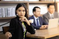Portrait of Confidense Businesswoman