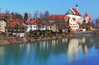 Füssen mit Stephanskirche