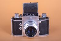 Old German camera EXA. 1961 release.
