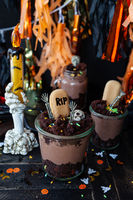 Scary dessert for a Happy Halloween