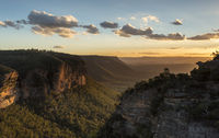 Katoomba Blue Mountains views Australia