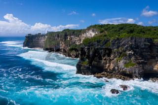 beautiful sea view in bali island