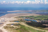 St. Peter-Ording, Aerial Photo of the Schleswig-Holstein Wadden Sea National Park in Germany