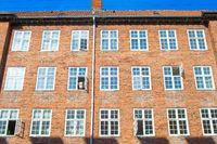typical apartment building Copenhagen Denmark