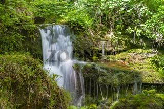 Wasserfall im italienischen Valvestino