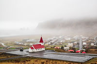 Church in Vik i Myrdal, Iceland