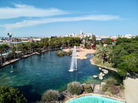 Park of Nations in Torrevieja city