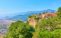 Monastery of St. Stephen in Meteora and Thessaly valley
