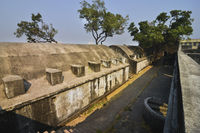Sewri fort, Sewree, Mumbai, Maharashtra, India