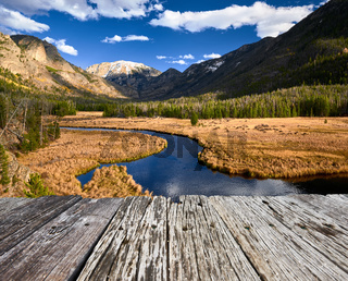 East Inlet Creek in Rocky Mountain National Park