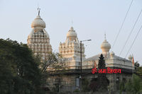Long view of shikharas of Changavateshwar Temple at Saswad, Pune