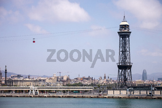 Montjuic Cable Car tower