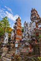 Buddhist temple of Banjar - island Bali Indonesia