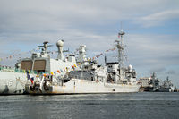 French Frigate D645 La Motte-Picquet in Copenhagen Harbour