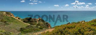 Cliffs view on Lagos, Algarve