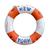 Retro New York Ferry Lifebuoy