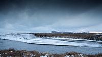 Landscape, winter in Iceland, Europe