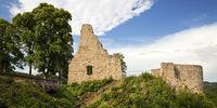Gerolstein Castle, Gerolstein, Vulkaneifel, Eifel, Rhineland-Palatinate, Germany, Europe
