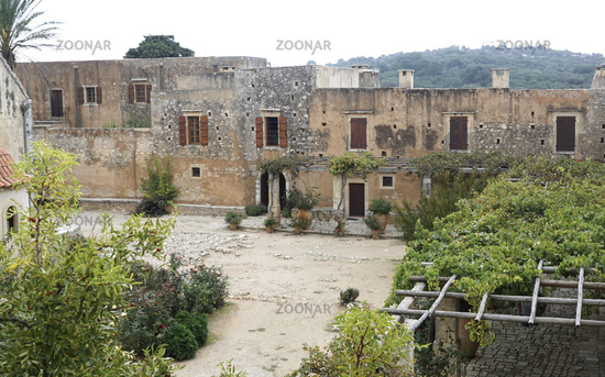 Monestery Arkadi, Crete