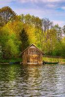 Boat storage garage