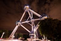 Atomium building in Brussels