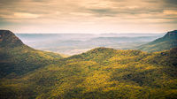 the Blue Mountains Australia panorama