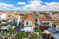 Picturesque city Saintes-Maries-de-la-Mer