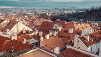 traditional Prague city photo