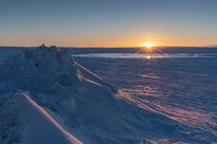 Sunrise, Iceland, Europe