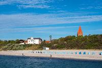 Strand an der Ostseeküste in Rerik