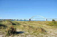 Fehmarnsund Bridge at baltic Sea,Schleswig-Holstein,Germany