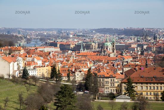 View over Prague, Czech Republic