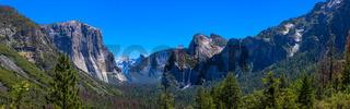 Yosemite Valley Panoramica Tunnel view