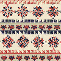 Palestinian embroidery pattern 43
