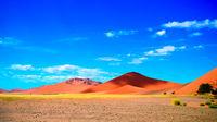 Landscape Sand dunes Namib-Naukluft national park , Namibia