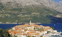 View over Korcula