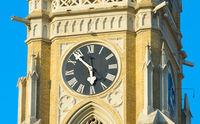 Church clock Novi Sad, Serbia