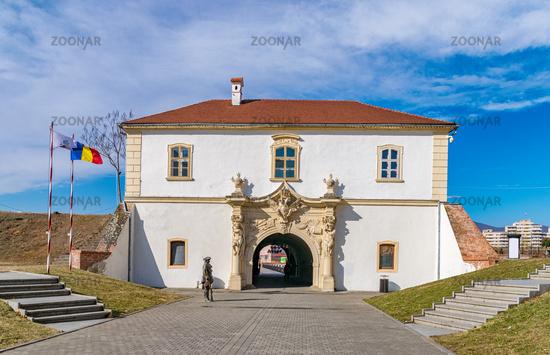 The 4rd Gate of the Citadel Alba-Carolina in Alba Iulia, Romania, officially declared Capital of the Great Union of Romania