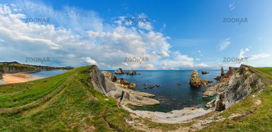 Atlantic Ocean coastline landscape