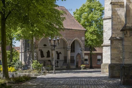 Picturesque prayer hall, memorial