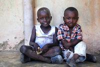 African children from Ukunda, Kenya. Africa