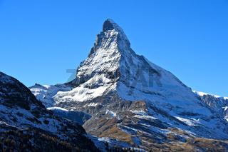 Matterhorn mit Hörnligrat