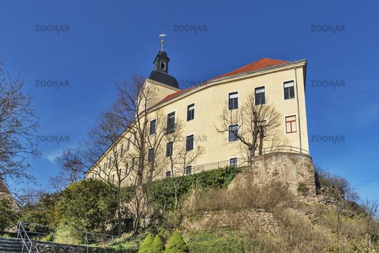 Schloss Hirschstein, Sachsen   Hirschstein Castle, Saxony
