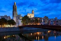 Girona City By Night