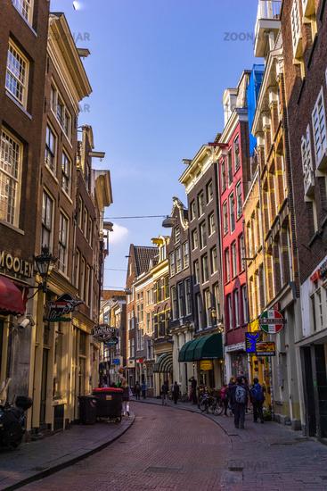 Citystreets in Amsterdam