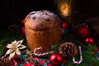 Panettone, an Italian Christmas Sweet Bread
