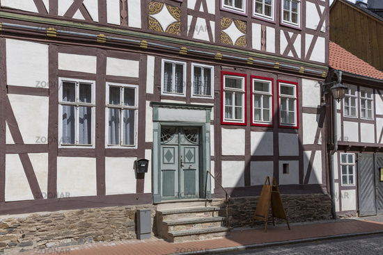 The town of Stolberg in the Harz Mountains, Germany