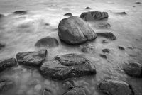 Stones at the beach of Lohme