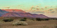 Brandberg Mountain in Namibia, Africa wilderness