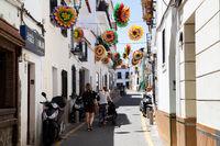 Charming Streets of Nerja, Spain